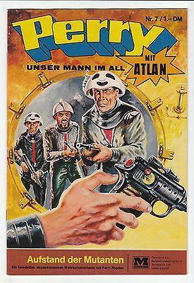 Perry unser Mann im All Nr.7 Original 1968 Moewig Verlag in Zustand 1-2 !!!