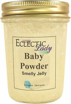 Baby Powder Smelly Jelly, Room Air Freshener, 8 oz ()