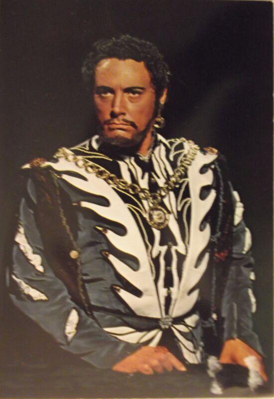 Opera Tenor MARIO DEL MONACO - glorious Hand Signed 18x12 photo Autograph OTELLO
