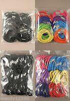 Paquete De 100 Gomas Pelo : Elige Color / Elegir Grosor O Fino: Mayorista -  - ebay.es