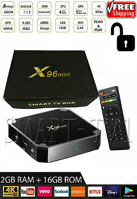 Android X96 Mini TV Box 9.0 Amlogic S905W KD 19.0 WiFi 2GB 1