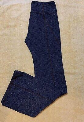 Athleta Sz Atmosphere Womens Legging Activewear Gray Nylon Polyester Lycra