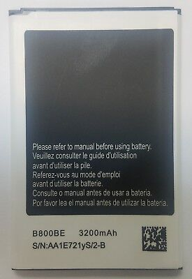 Replacement Battery for Samsung Galaxy Note 3 SM-N900V B800BE Verizon 3200mAh