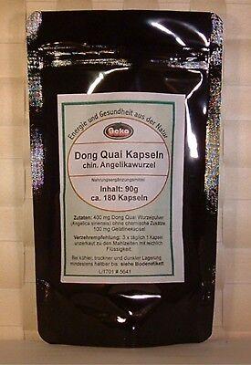 Dong Quai - Kapseln  90g  ca. 180 Kapseln a´500mg                          #5641