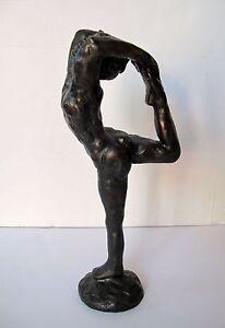 Auguste Rodin DANCER MOVEMENT Bronze Statue Sculpture Art Gymnastics Gymnast