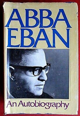 ABBA EBAN: An Autobiography by Abba Eban (1977, Hardcover)