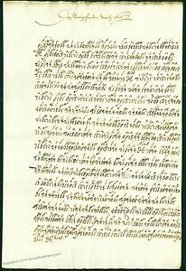 Italy 1616 CODED Encrypted Letter Venice Venetian Venezia Stampless Cover 63866