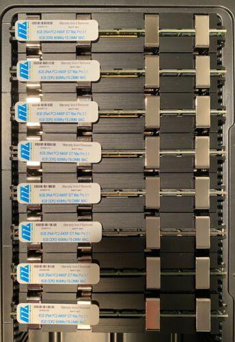 64GB Mac Pro 3.1 (8x8GB) PC6400 DDR2  800MHz 240 Pin FB-DIMM 2.8, 3.0, 3.2GHz