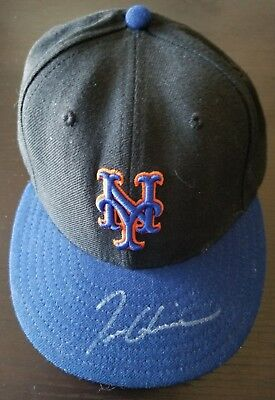e17e9a07dc2 Tom Glavine game worn auto d Opening Day  06 Mets win cap hat. MLB  Authenticated