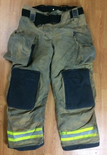 Globe Gxtreme Firefighter Bunker Turnout Pants 38 x 32  2016