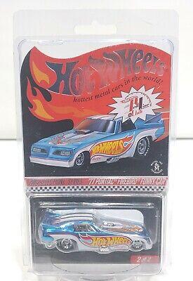 2014 Hot Wheels Red Line Club 77 Pontiac Firebird Funny Car 1762/3840