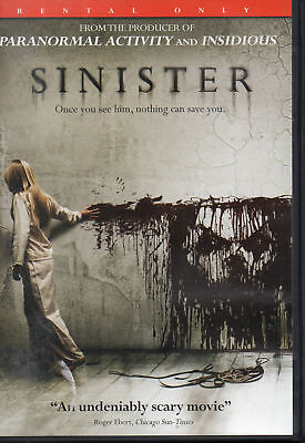 Sinister Ethan Hawke Used Very Good Horror