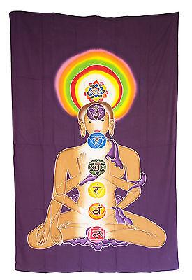 Batik Chakra Connection Hanging Cotton Handmade 180x116cm 1596 U