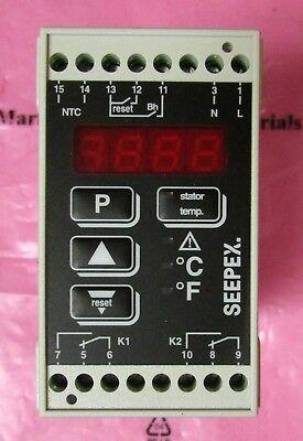 Seepex Sgrtse115accsab 115v Tse Controller Interlock