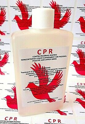 CPR Respiratory Mucus Racing Pigeons Poultry Birds Aviary Cage Exotic