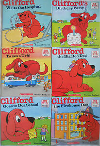 CLIFFORD BULK BOOK PACK - Set of 6 Books - BRAND NEW