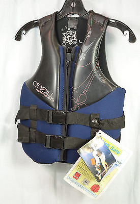 O'Neill 1778 THE LAW  Womens PFD Wakeboard/Water Ski Vest Si