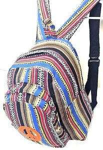 New Hippie Gypsy Rucksack Tribe Unisex Backpack bag Hand made in Nepal NEW