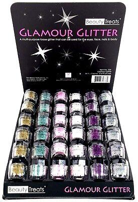 Use Loose Powder (Beauty Treats Glamour Glitter Eye Body Nail Universal Use Loose Pigment Shadow )