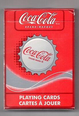 JEU DE 52 CARTES COCA COLA STYLE CAPSULES N° 351-R-C MARKLAN ONTARIO L3R683