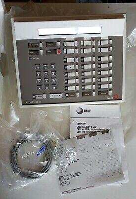 New Att Avaya Lucent Definity Call Master Iii Attendant Voice Console 603e