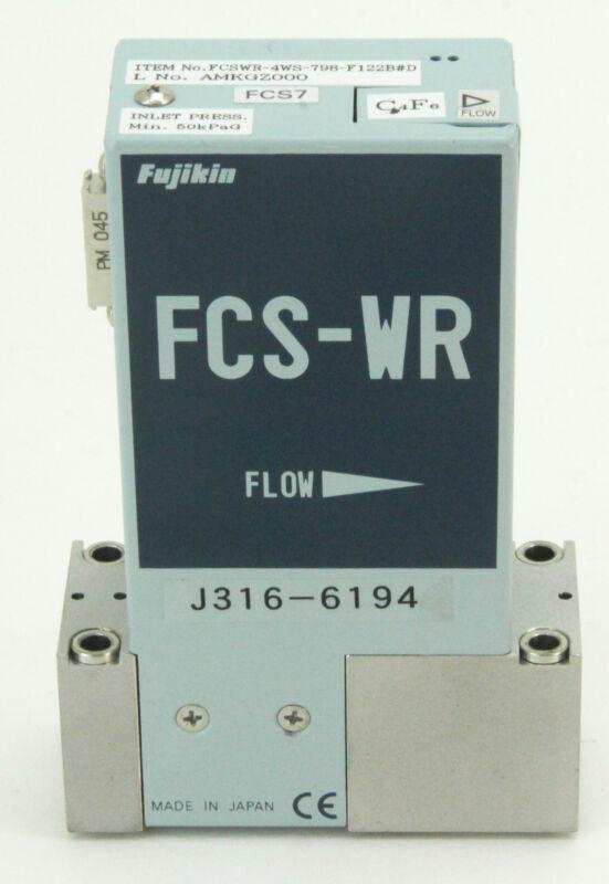 6194 FUJIKIN MFC FCS-WR FCSWR-4WS-798-F122B#D