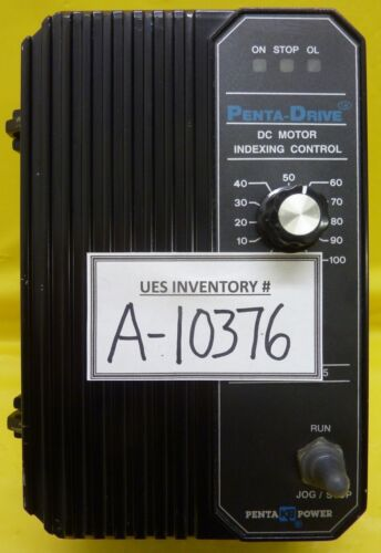 Kb Electronics Kbpi-240d (3736) Dc Motor Indexing Control Penta-drive Used