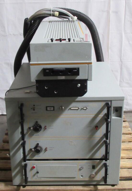 T177404 Continuum Powerlite 6000 Series Laser 6050 w/ CU601 PU620A CB630A CG603A