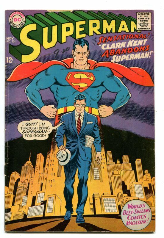 SUPERMAN # 201