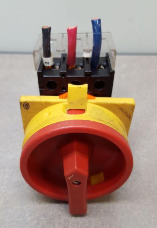 Klockner Moeller Manual Motor Controller/Switch. 20AMP/600VAC. Listed 340B