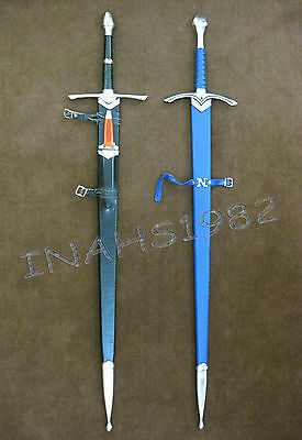 Aragorn Strider Sword with knife from LOTR + Glamdring Sword of Gandalf