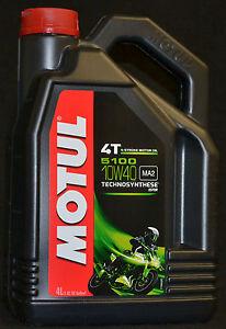 2x4= 8 Liter Motul 5100 Motorrad Öl  4T  MA2 Motoröl 10W40 10W-40