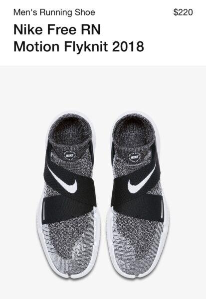 2e4115a08 Nike Free RN Motion Flyknit 2018 size 10.5!
