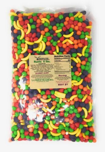 Willy Wonka Runts Classic Candy, 6 lbs. ~ YANKEETRADERS ~ FREE SHIPPING
