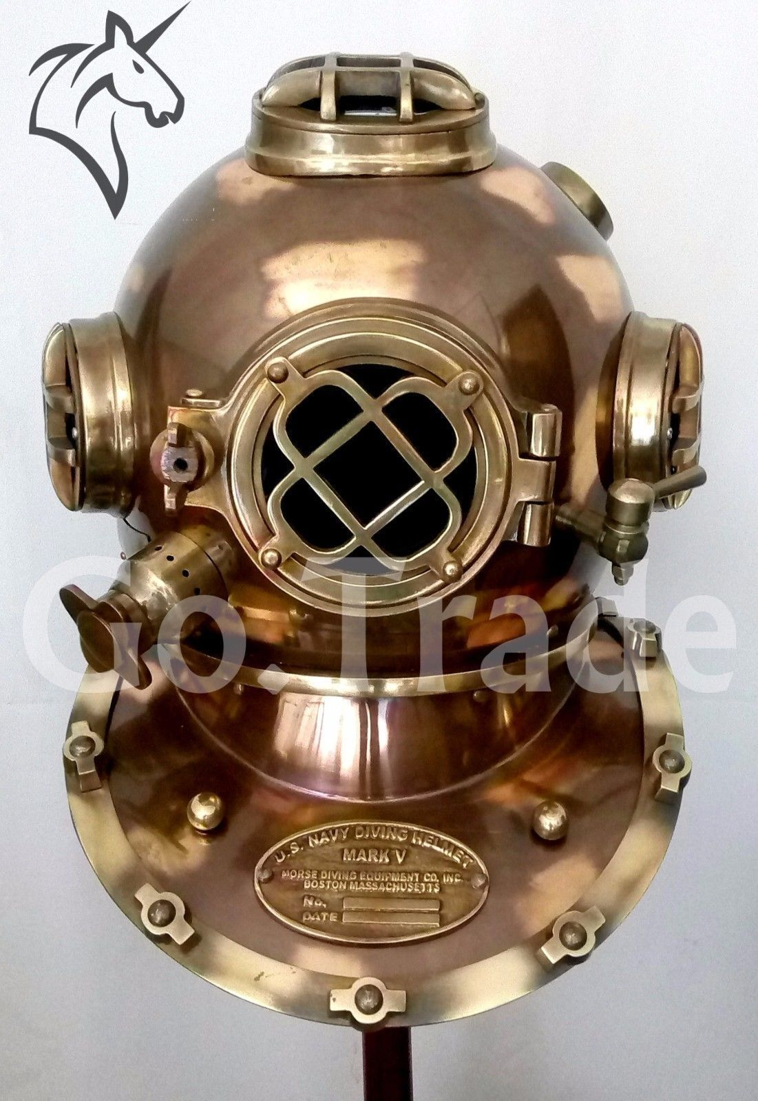 Antique  US Navy Vintage Dive Helmet Mark V Antique Diving Divers Helmet GiftS