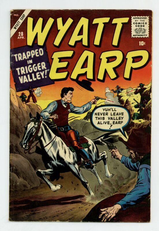 Wyatt Earp #28 VG+ 4.5 1960