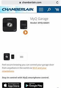 Chamberlain MyQ Garage Opener for iPhone and Android