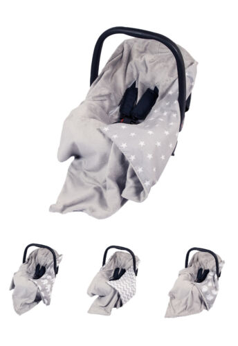 **NEW GREY BABY WRAP FOR CAR SEAT / CAR SEAT BABY BLANKET / COVER / COSYTOES