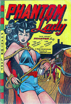Golden Age Female Super-Hero Comic Books on DVD-Rom with reading software - Super Hero Females