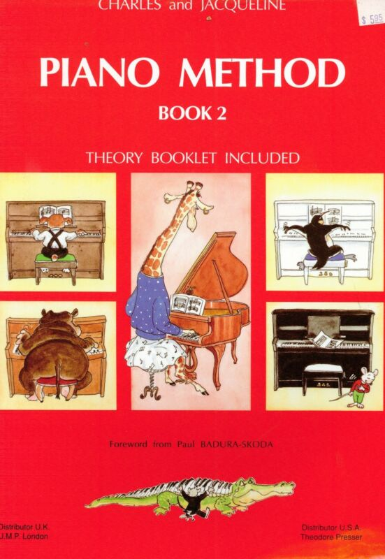Charles & Jacqueline Piano Method Book 2 w Theory Booklet