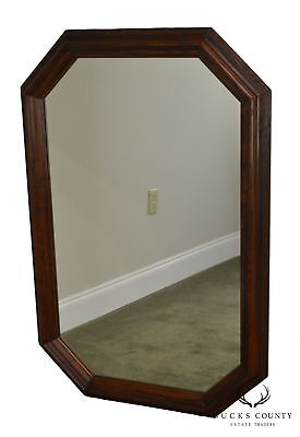 Henredon Vintage Oak Octagon Wall Mirror for sale  Hatfield