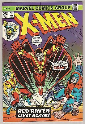 Uncanny X-Men #92 F/VF 7.0