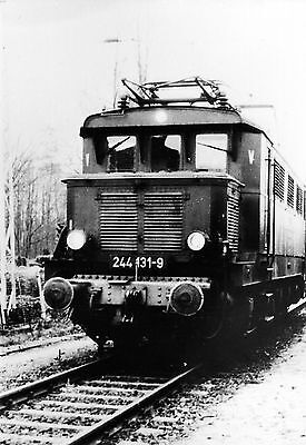 altes DDR Foto DR-Baureihe E-Lok  E 244 131-9       ( 33053