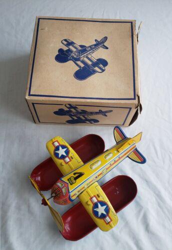 Vintage J. Chein & Company brand, Mechanical Aquaplane No. 39 with original box