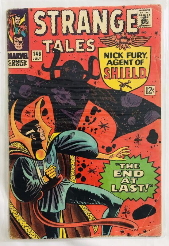 Strange Tales #146 ORIGINAL Vintage 1966 Marvel Comics Nick Fury Dr Strange