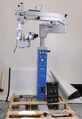 Carl Zeiss Opmi Mdu Surgical Microscope W Universal S3 Floor Stand