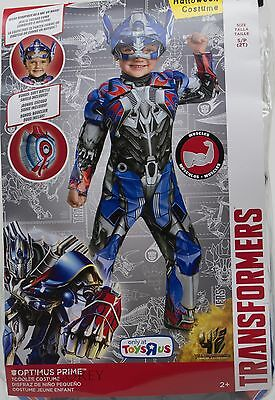 Disguise Transformers Optimus Prime Toddler Costume Size 2T NIP