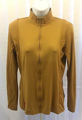 Bugatchi Women Zip Up Full Sleeved Jacket, Small