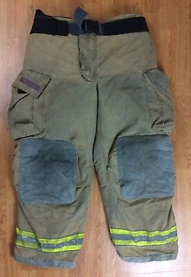Globe Gxtreme Firefighter Bunker Turnout Pants 44 X 30 2008