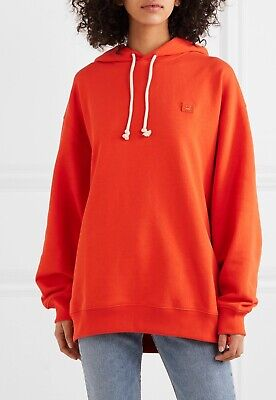 NWT Acne Studios Farrin Face Oversize Hoodie Size XXS Orig.$350